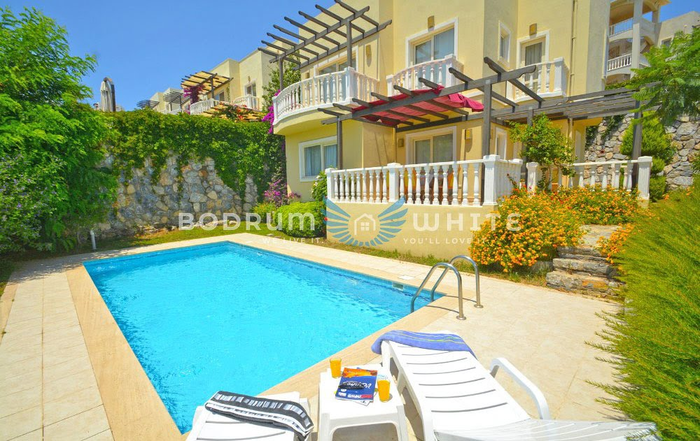 Bodrum Adabuku Flamingo Country Club - 3 Bedroom Triplex Holiday Villa for Sale - Bodrum White Properties